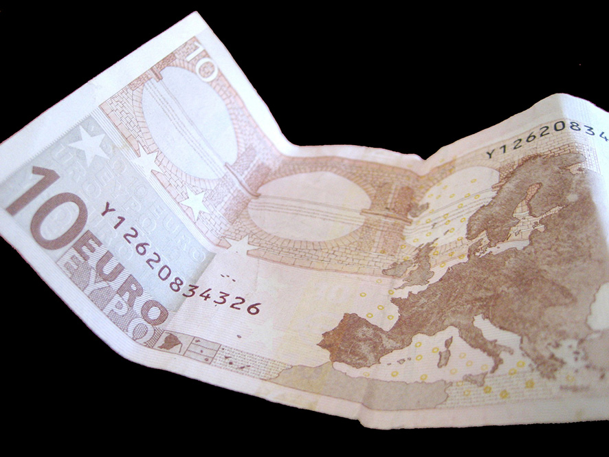 10 Euros banknote picture