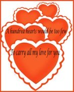 valentines day ideas hearts and text