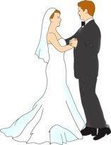 bride and groom, waltzing