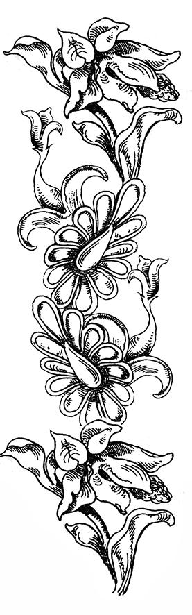 flower-vertical-border