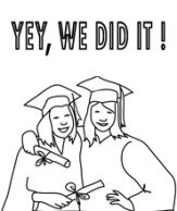 graduation images yey we did it