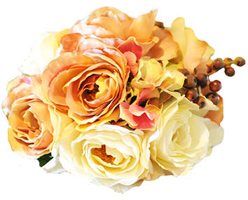 rose arrangement for wedding