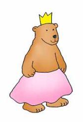 princess clip art bear princess