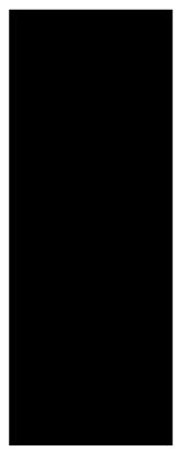 black silhouette of girl dancing
