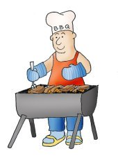 barbeque summer clipart