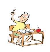 school pictures boy at school book apple