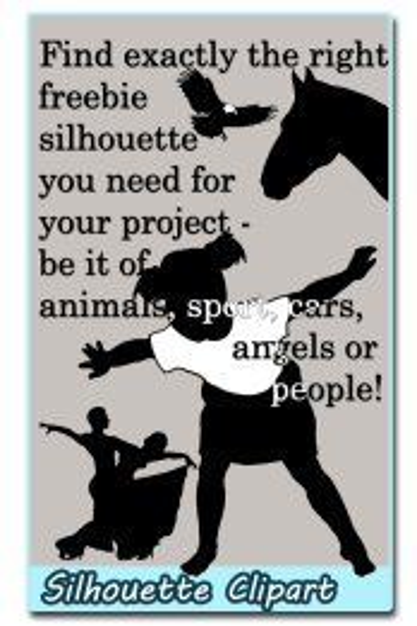 silhouette clipart ideas