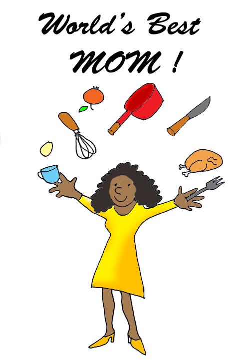 worlds best mom clip art