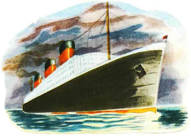 ocean liner scrap