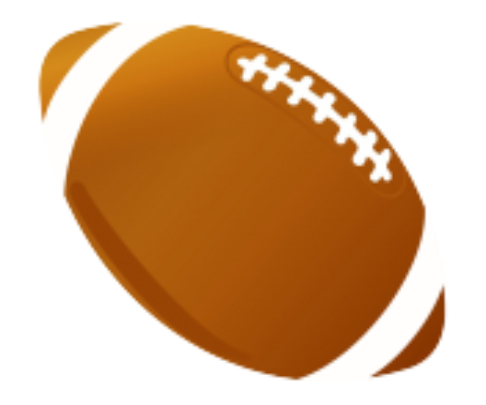 sports clipart football ball