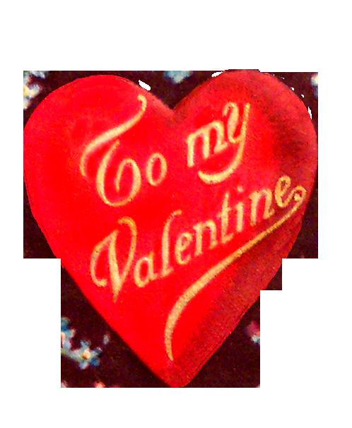 vintage Valentine's Day heart