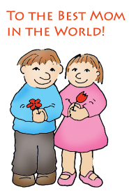 mothers day clip art best mom in the world