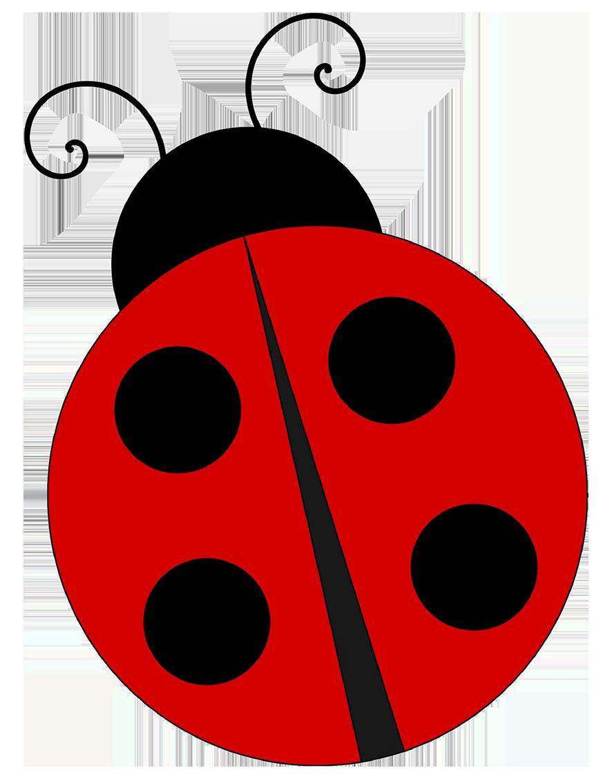 simple ladybug drawing