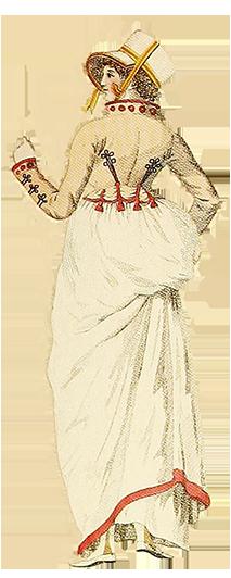 1799 ladies fashion dress