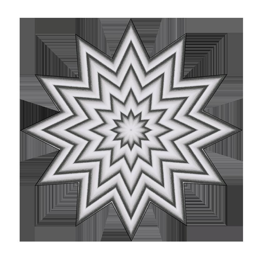 grey star pattern clipart