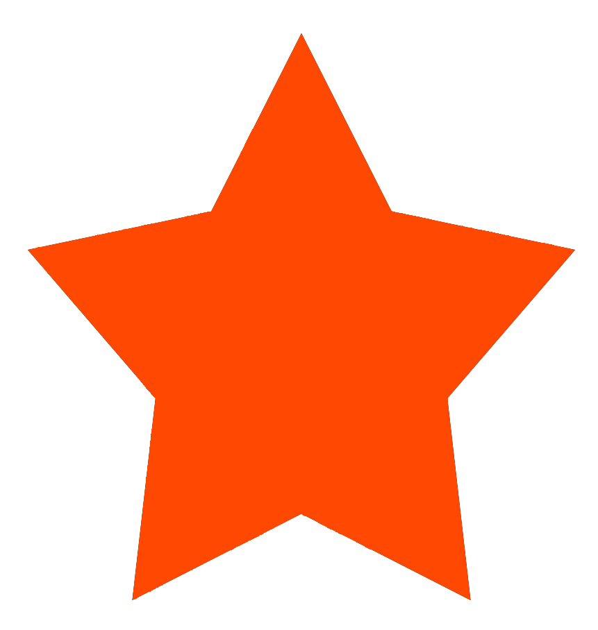 simple star red color