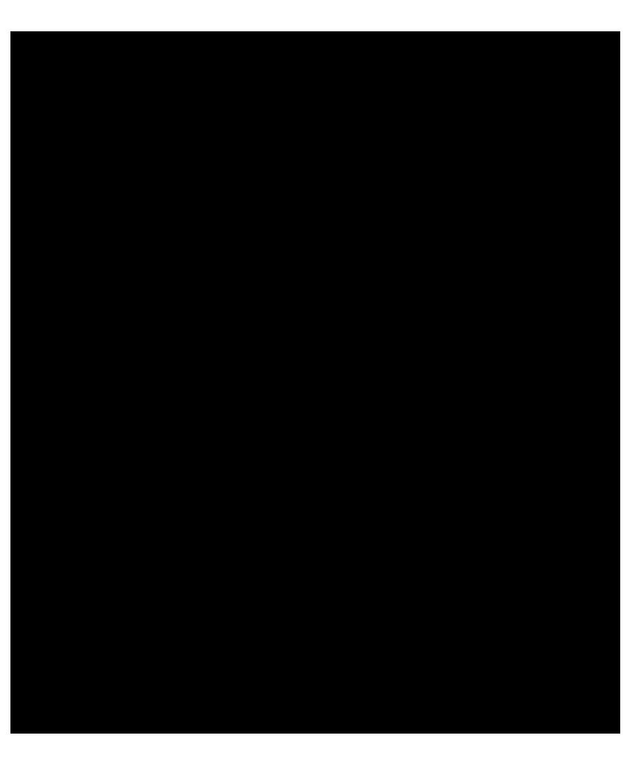 black stroke silhouette of dancing girl