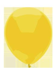 Yellow balloon image