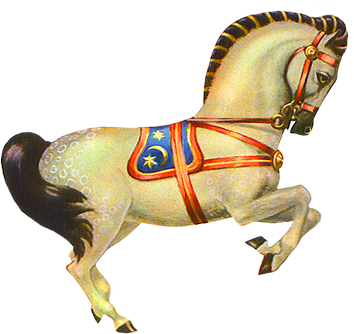 Circus horse clip art