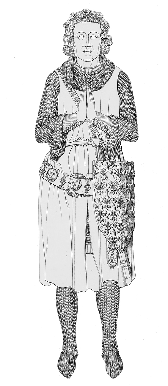 Medieval noble-man