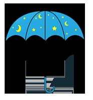 umbrella cliipart night umbrella