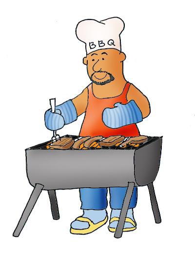 BBQ summer clipart