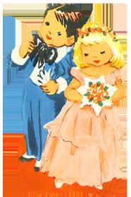 scrap children wedding