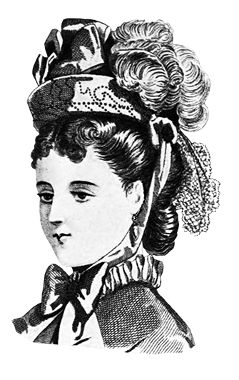 latest fashion tips for women's hats 1871