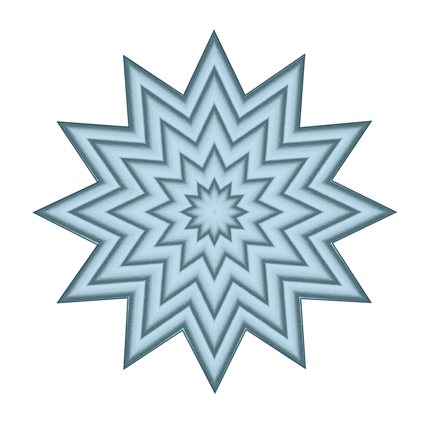 pattern with clipart stars