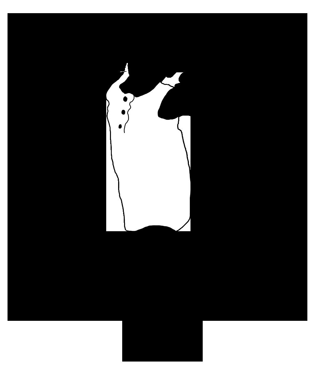 black white silhouette girl playing