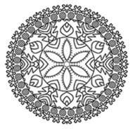 mandala coloring pages