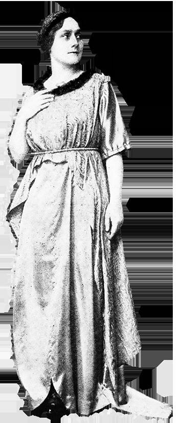 home designed party dress 1917