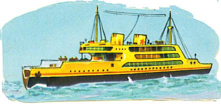 clip art of big ship