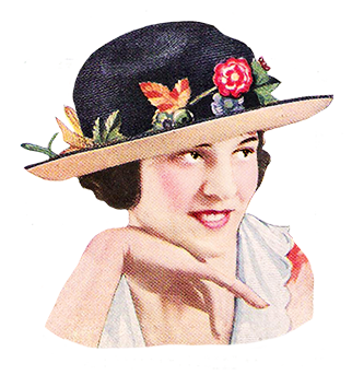 Ladies hat 1922