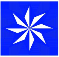 blue clipart stars