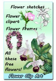 flower clip art ideas
