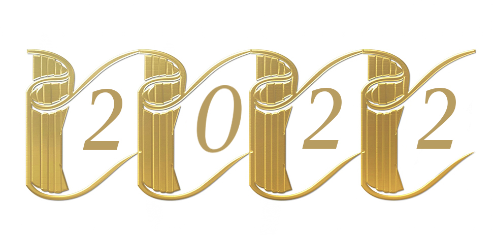 2022 New Year clipart