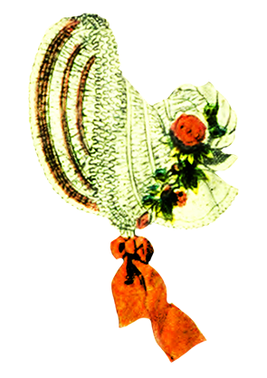 Bonnet for Victorian women