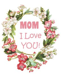 mother's day clip art greeting