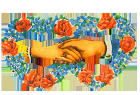 Free Valentine printables flowers hands heart