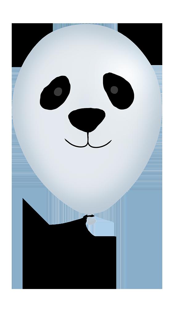 panda animal balloon