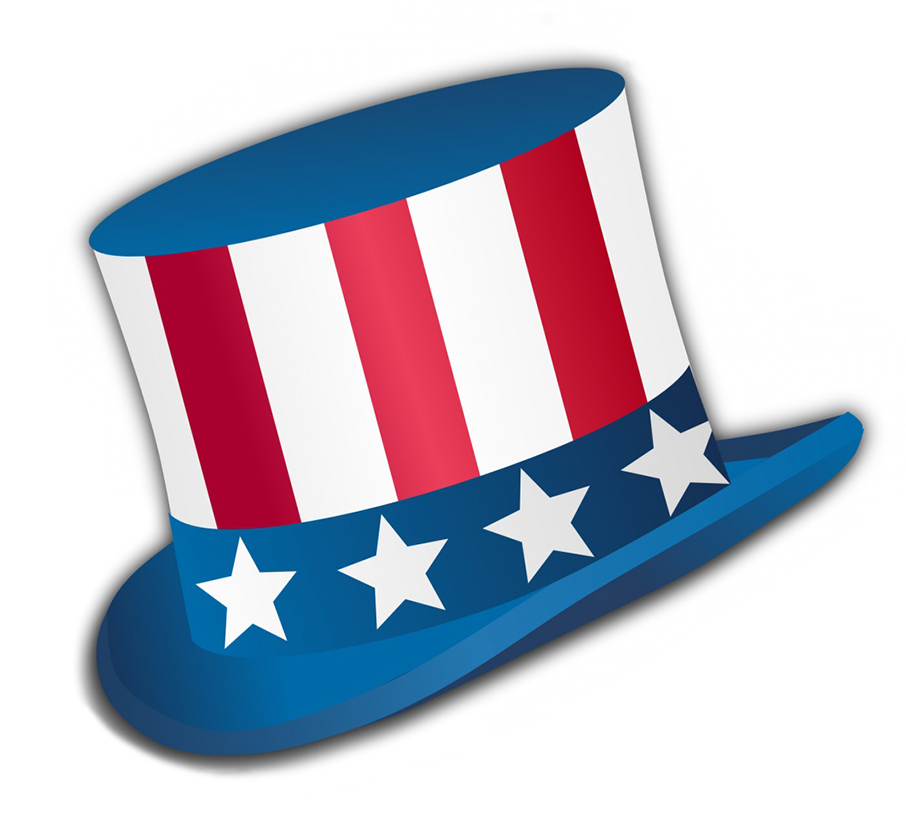 hat for USA independence day