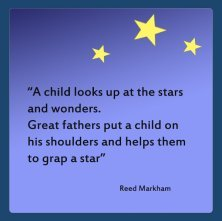 fathers day quote about stars