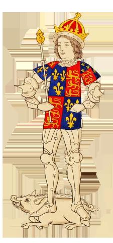 drawing of Richard III