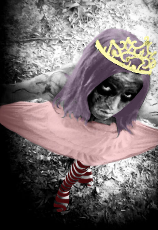 zombie princess for Halloween party
