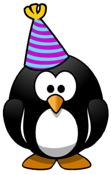 penguin new year party