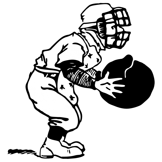 baseball player clipart