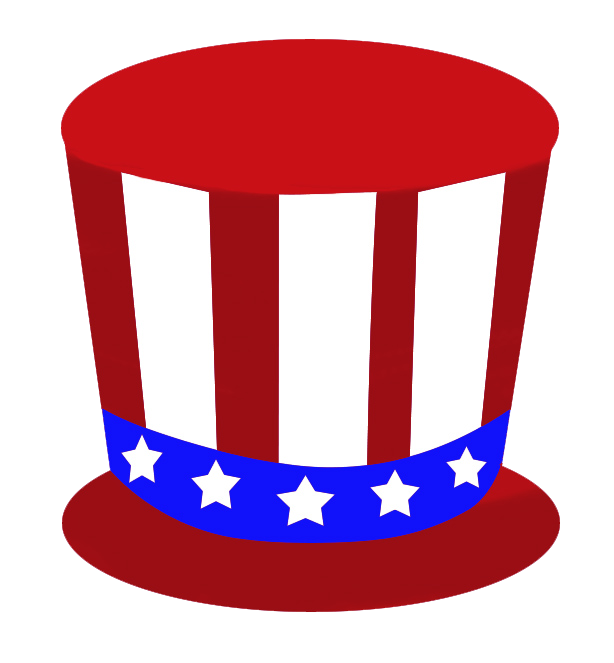 red hat for Independence day USA