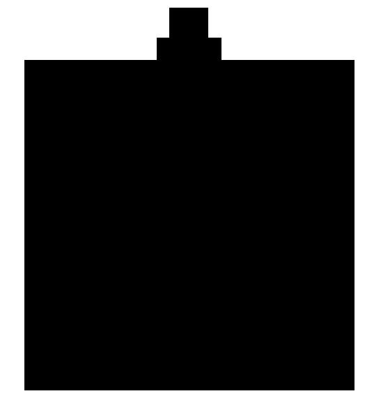 chrismas bouble silhouette
