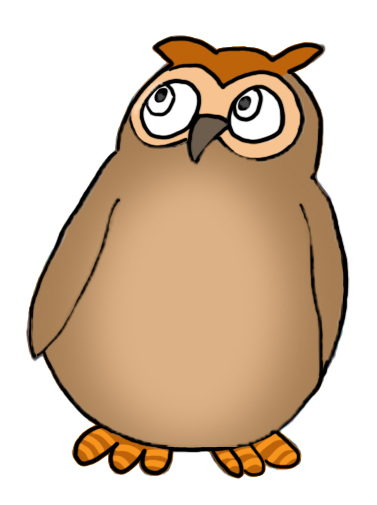 owl clip art small owl